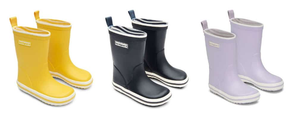 Flexible and Minimalist Rain Boots for Kids by Bundgaard