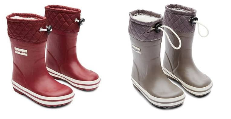 Bundgaard Minimalist Warm Rubber winter boots for kids