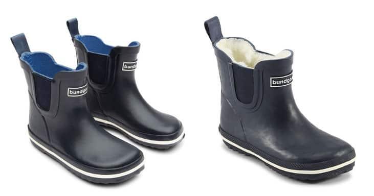 Short Rain Boots for Kids by Bundgaard