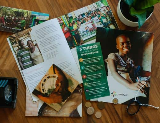 Through the Unbound Charity, you can help a child out of poverty through a one-on-one sponsorship