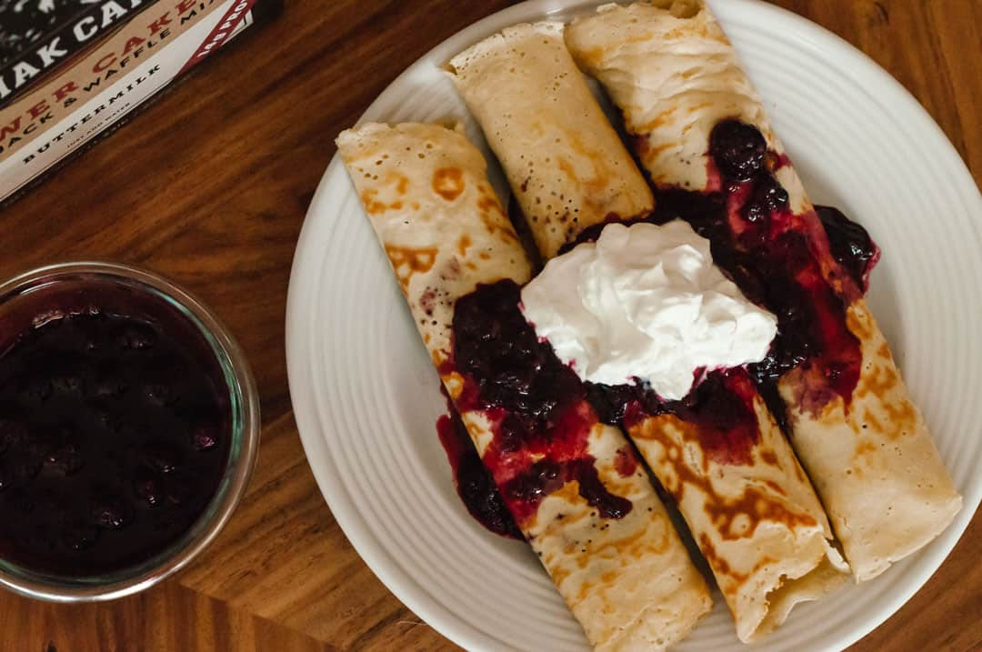 Kodiak Cakes crepe recipe
