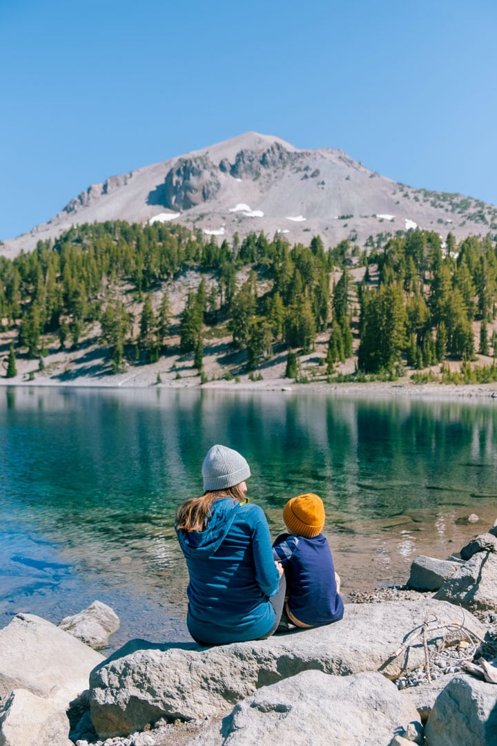 Lake Helen at Lassen Volcanic National Park