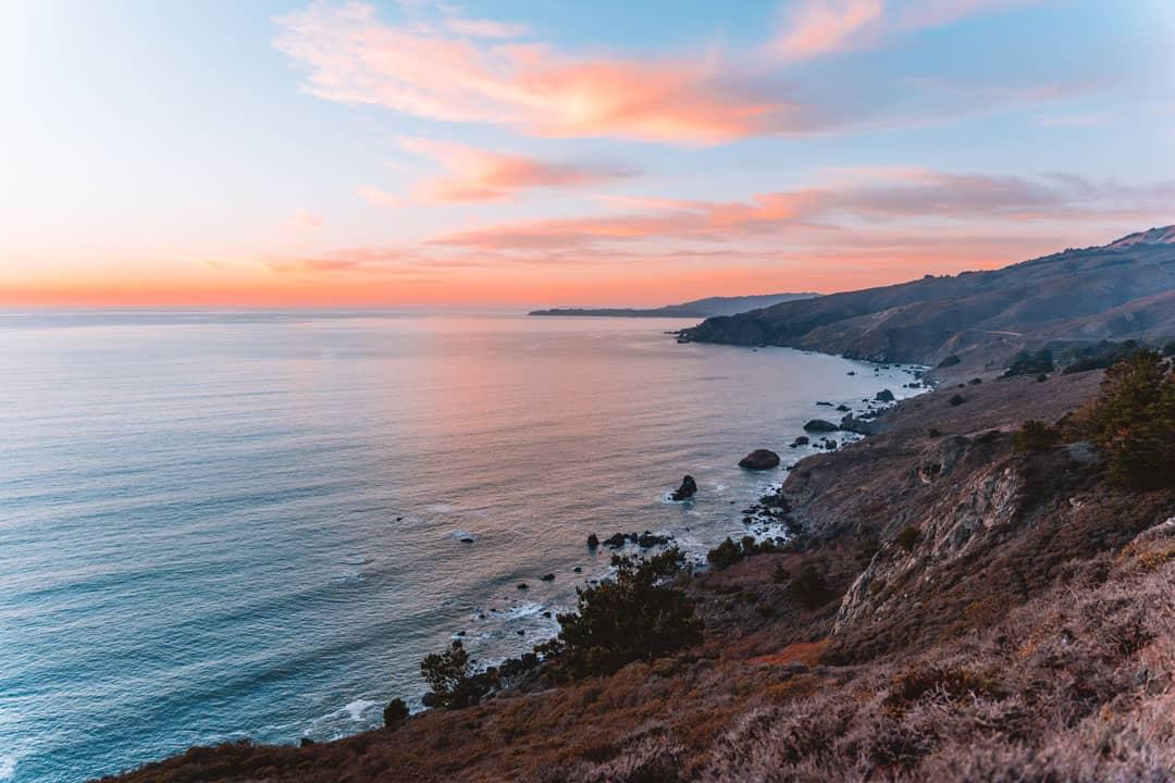 Beautiful sunset spots near San Francisco