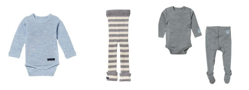Merino Wool Baby Clothes from Ella's Wool