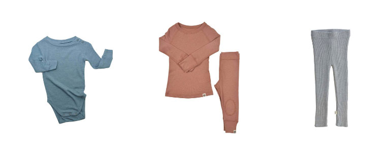 Merino Wool Baby Clothes from Nui Organics