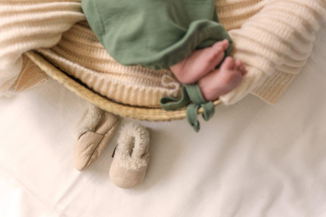 Merino wool sleep sack for babies