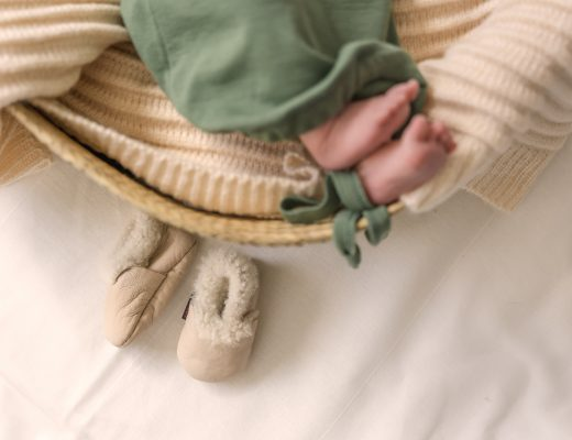 Merino wool sleep sack for babies