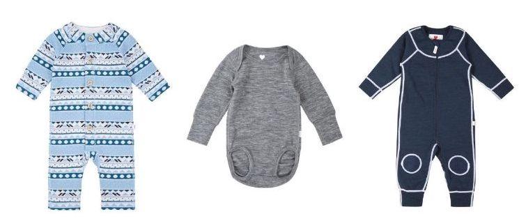 Reima merino wool baby clothes