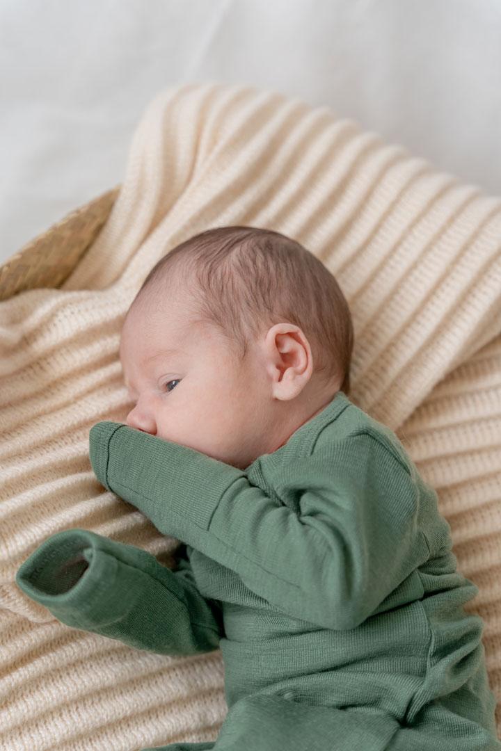 Simply Merino wool sleeping gown for babies