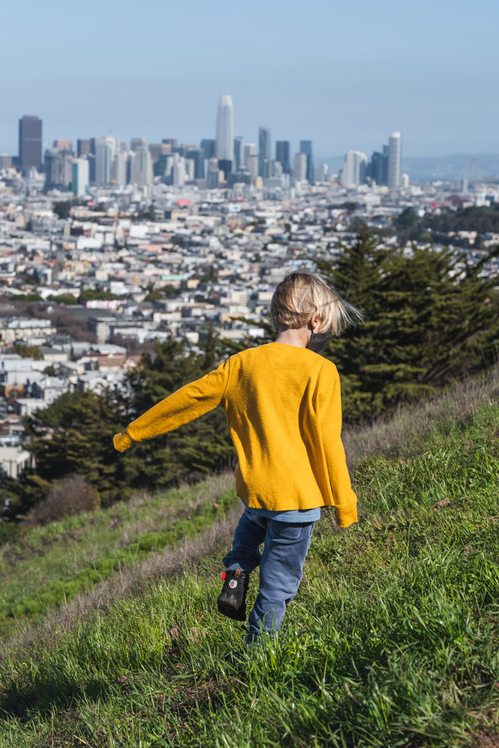 Best hiking in San Francisco at Bernal Heights Park