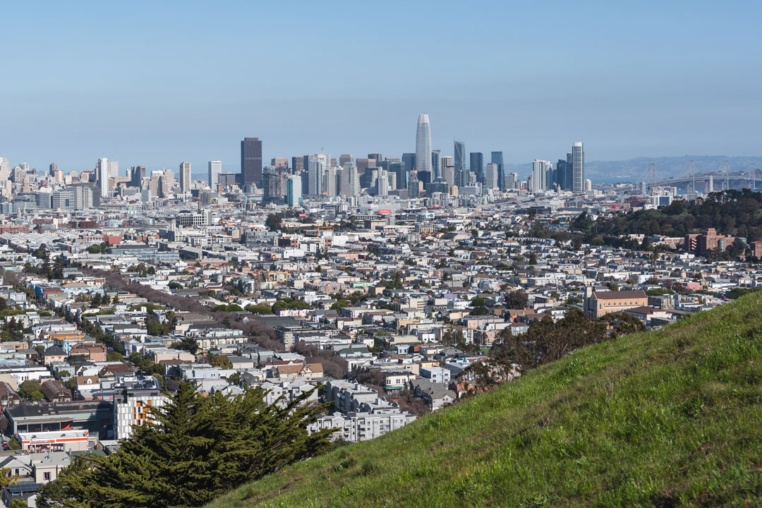 Best hikes in San Francisco, Bernal Heights