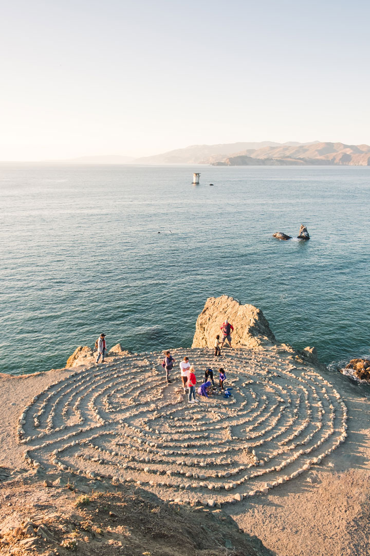 Hike to Land's End Labyrinth in San Francisco