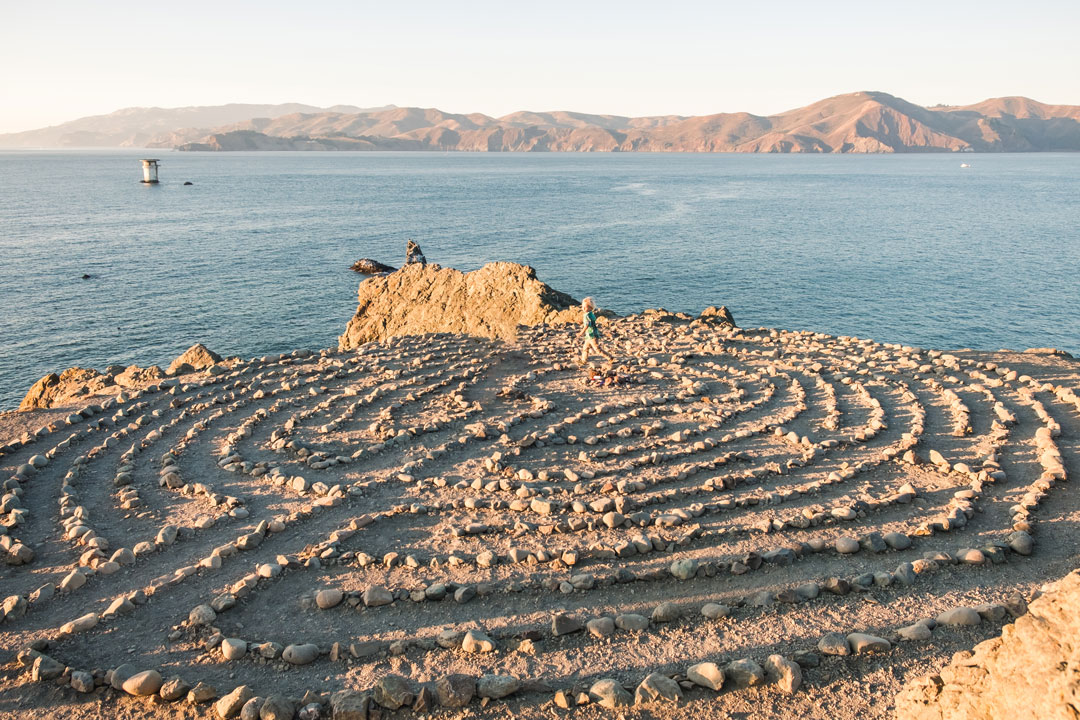 Land's End Labyrinth in San Francisco