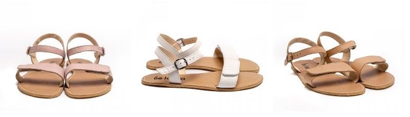 Be Lenka Grace Leather Barefoot Sandals
