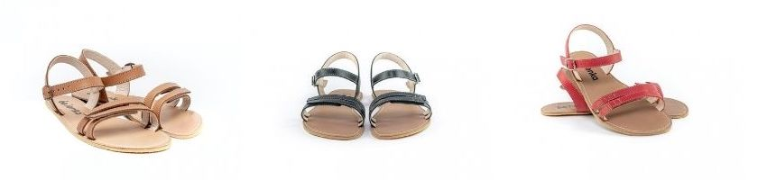 Be Lenka Summer Leather Barefoot Sandals