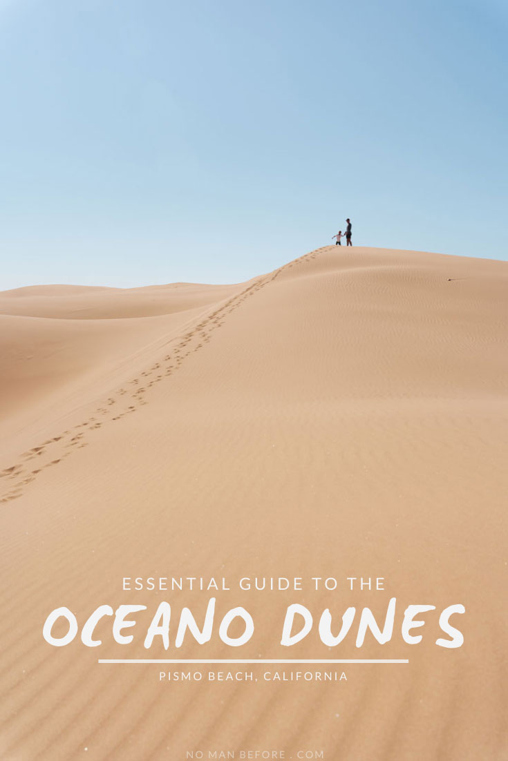 Hike into the Pismo Beach Sand Dunes along California's Central Coast to find untouched sandy hills that stretch for miles. This guide tells you everything you need to know about visiting the Pismo Dunes (aka the Oceano Dunes), including where to park and access the dunes on foot.    #pismodunes #oceanodunes #pismobeach #california