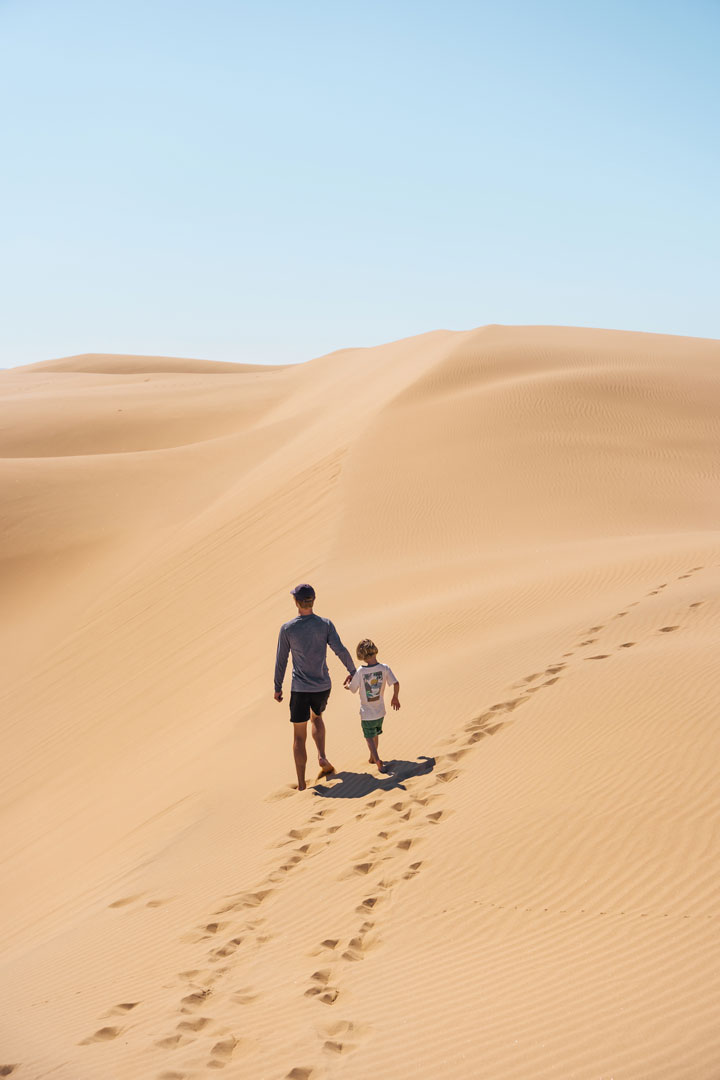 How to access the Pismo Beach Sand Dunes on foot