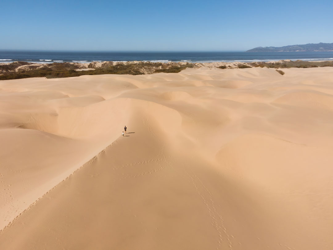 Hiking in Pismo Sand Dunes
