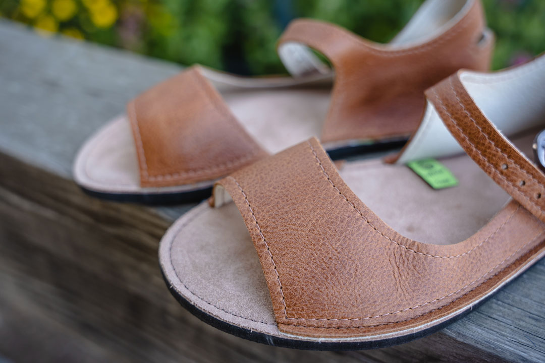 Minimalist sandals by Softstar Shoes