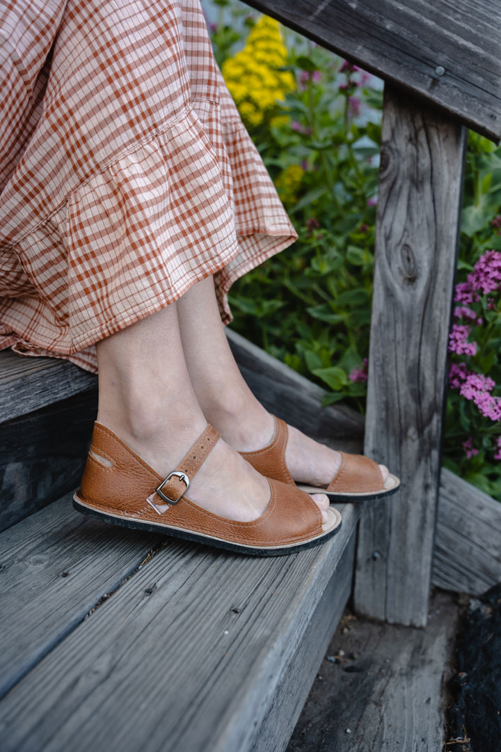 Softstar Barefoot Leather Sandals