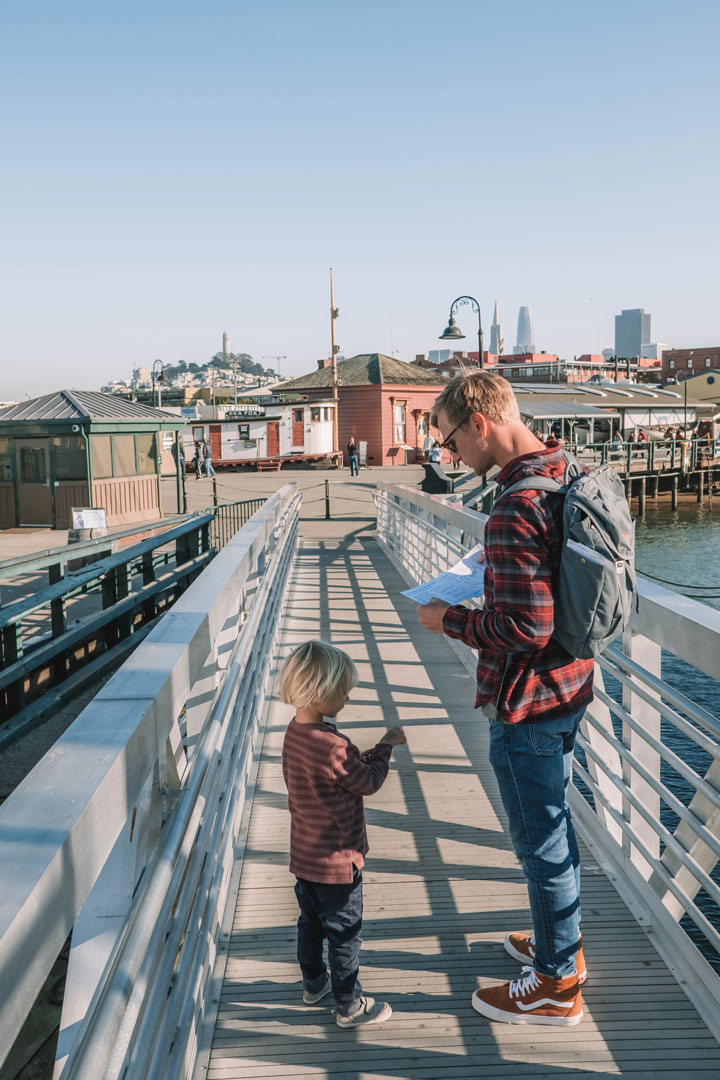 Visiting the San Francisco Maritime Museum with kids