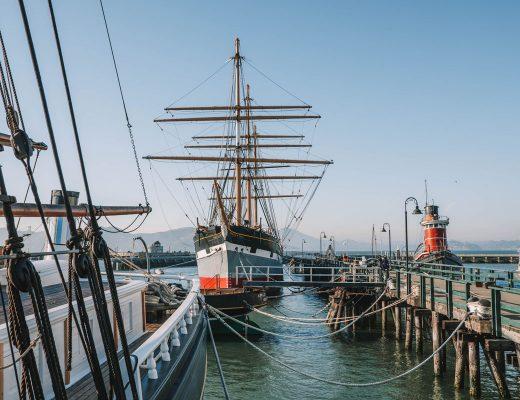 Ships at San Francisco Maritime National Historic Park