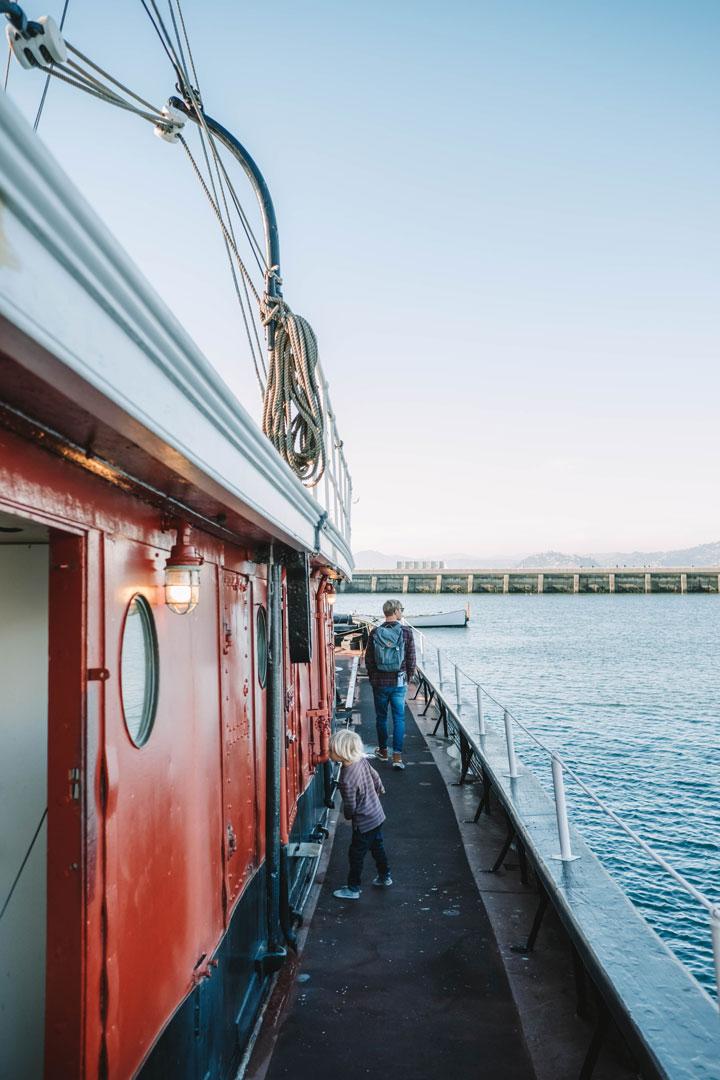 Boats at San Francisco Maritime National Historic Park