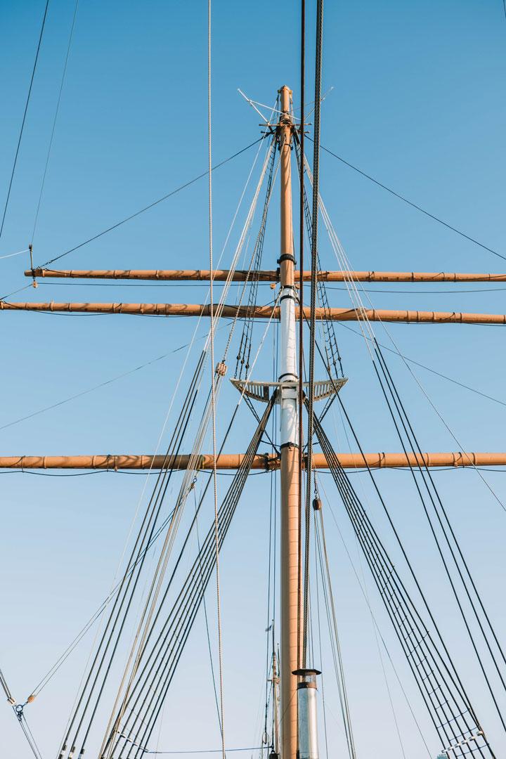 Ships at Hyde Street Pier