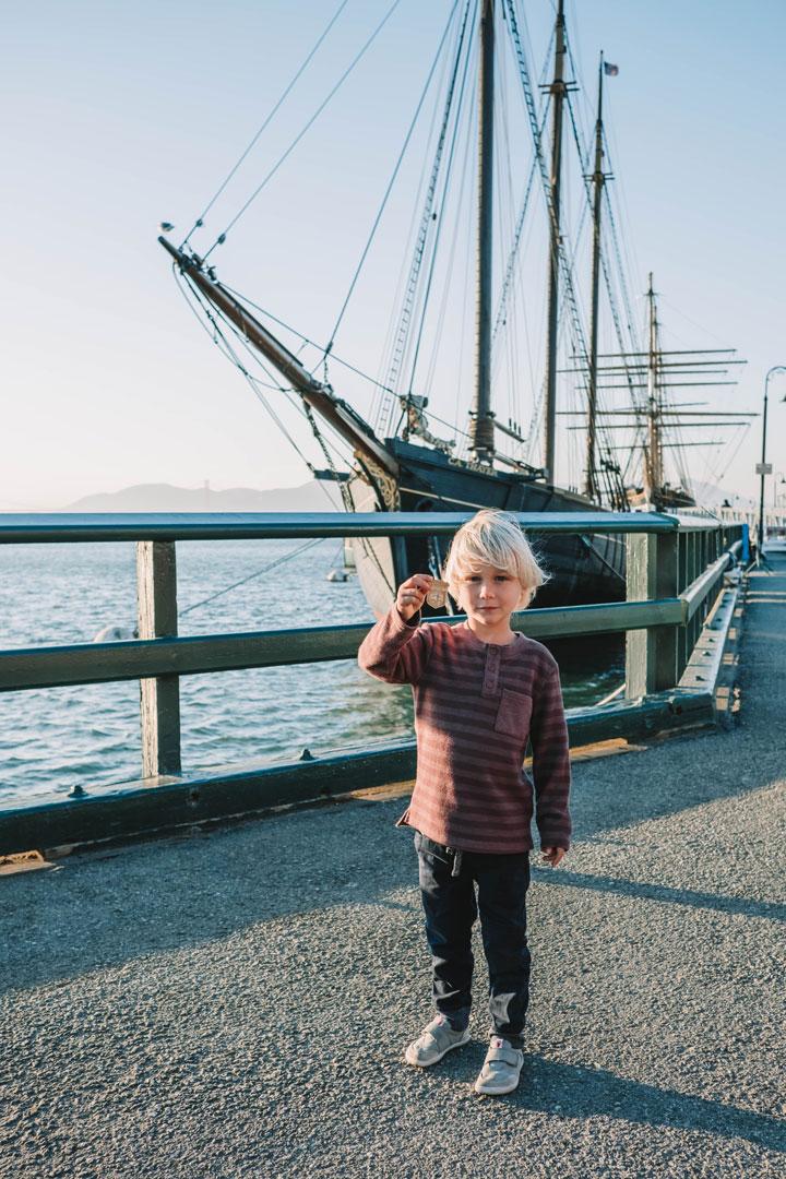 Junior Ranger Program at National Historic Parks in San Francisco