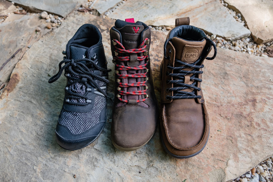 Barefoot Hiking Boots by Xero Shoes, Vivobarefoot and Lems