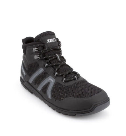 Xero Shoes Excusion Fusion are wide toe hiking boots